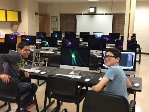 Check out our new computer lab for our Programming & Web Development option.